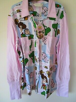 Women's Peter Alexander Toy Story button front top  Size L