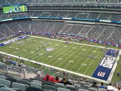 Green Bay Packers @ New York Giants- 2 Tickets- Sun 12/01/19 Sec 334, Row 26