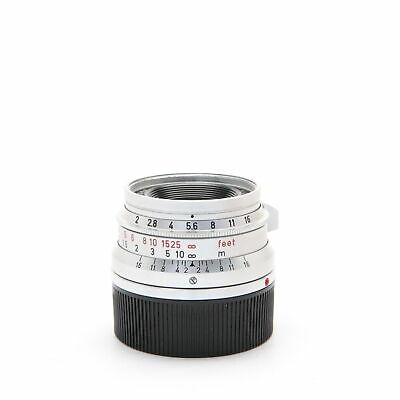 Leica Summicron M35mm F2 (8-element) Made in Germany -Near Mint-