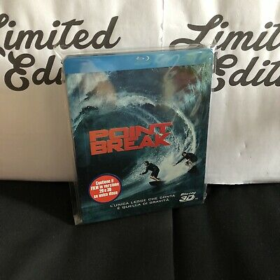 POINT BREAK -blu ray-STEELBOOK-versione 2d+3d-limited edition