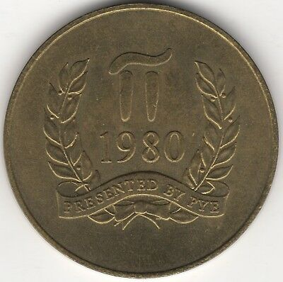 1980 Moscow Olympics 38mm Medal | Pennies2Pounds
