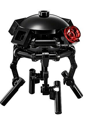 LEGO STAR WARS IMPERIAL PROBE DROID,BLACK SENSORS,SINGLE BAR FRAME FIGURE NEW