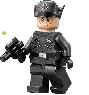 Lego Star Wars - First Order Officer Figure - Fast + Gift - 75190 - 2017 - New