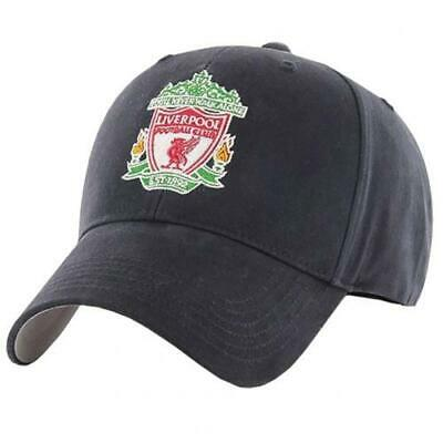 Liverpool Fc Adult Baseball Cap Navy - Official Gift