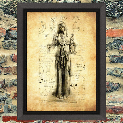 Curio Demon Oddity Occult Art Print Antique Effect Paper Witch Buy 2 Get 1 Free