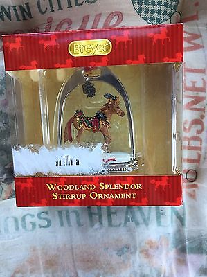 BREYER Woodland Splendor Stirrup Ornament #700317