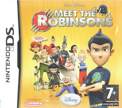 Meet the Robinsons Nintendo DS 7+ Action Game