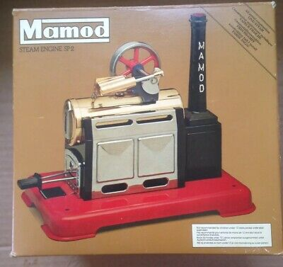 Mamod SP2 Static Steam Engine & Accessories Boxed