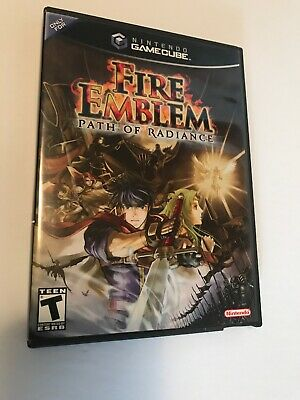 Case, Cover Art  ONLY! Fire Emblem: Path of Radiance (GameCube, 2005)