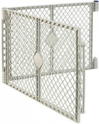 North States Gray Two-Panel Superyard Extension Kit Only Baby Kid Safe Play Yard