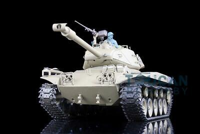 Henglong 1/16 6.0 Plastic Walker Bulldog RC Tank 3839 360° Turret Steel Gearbox