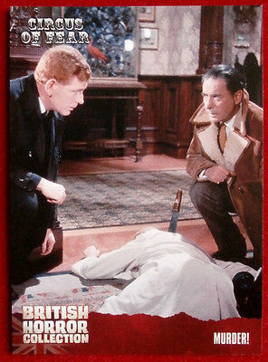 BRITISH HORROR COLLECTION - Circus of Fear - MURDER! - Card #86