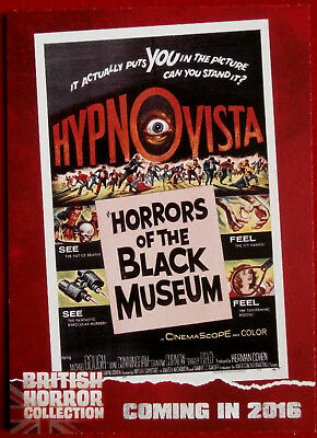 BRITISH H COLLECTION - MICHAEL GOUGH, Horrors of Black Museum - PREVIEW Card PR6