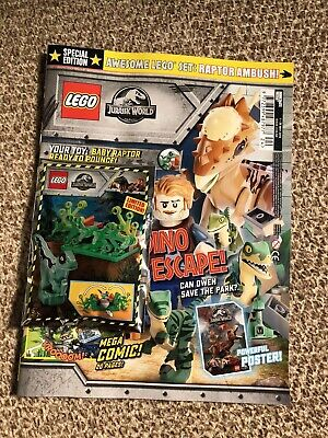 Lego Jurassic World Magazine Only Special Edition 1-28 May 2019 Issue 3