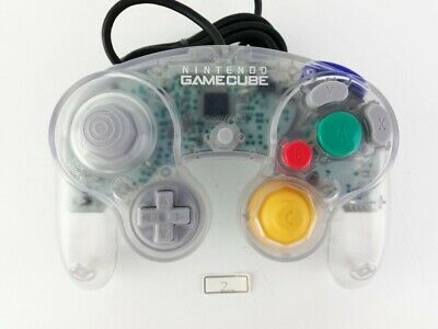 Nintendo Official GameCube Wii Controller Pad Clear GC Japan  No.4