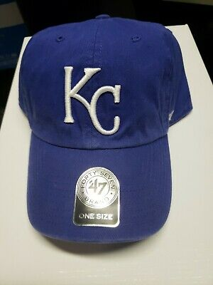 best service e44b8 c2d00 Kansas City Royals 47 Brand Clean Up Adjustable Field Classic Hat Cap MLB  NWT