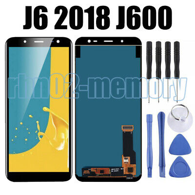 Für Samsung Galaxy J6 2018 J600F LCD Display Touchscreen Digitizer Schwarz RHN02