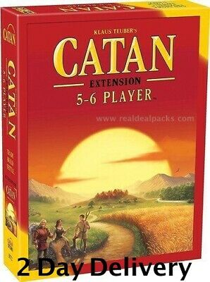 Settlers of Catan Board Game 5th Edition 5-6 Player  Extension Expansion Pack US
