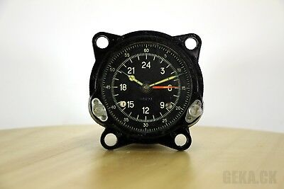 Good 55M (129ChS) Russian Military AirForce Cockpit Clock of Tupolev Bomber