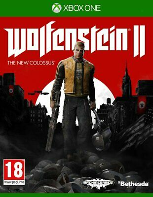 Wolfenstein 2: The New Colossus - Xbox One - UK PAL - Brand New & Sealed