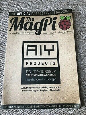 The MagPi Magazine Issue 57 - Google AIY Projects Voice Kit - Complete