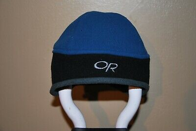 249f8864883a3 Outdoor Research OR Youth Windstopper Warrior Hat Blue   Black Small
