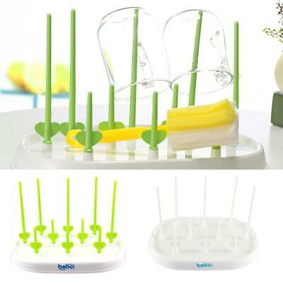 Milk Bottles Drying Rack Baby Feeding Bottles Cleaning Dryer Cup Stand Holder