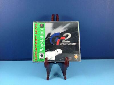 Gran Turismo 2 Greatest Hits Complete Tested Sony Playstation PS1