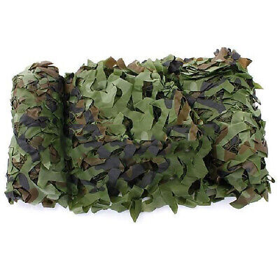 2X(Filet Camouflage Camo Camping 5m x 1.5m Chasse Foret Camouflable T3Z2)