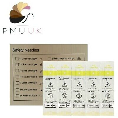 SPMU Needles - Semi Permanent Make Up PMU - Eyebrow Lip Micropigmentation Tattoo