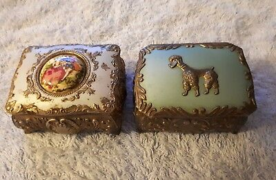 Old Jewellery Boxes *Made In Japan*