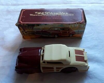 Avon Bottle 48 Chrysler Town And Country Decanter