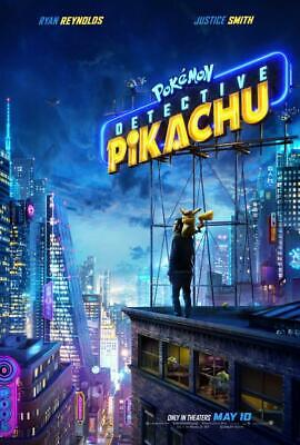 Pokemon Detective Pikachu Movie Poster Print 8x10 11x17 16x20 22x28 24x36 27x40