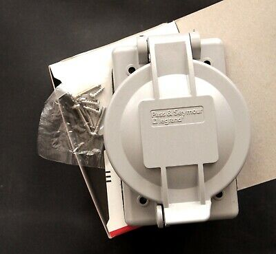 Pass & Seymour Legrand Weatherproof Liftcover Electrical Part WPG-2 Gray
