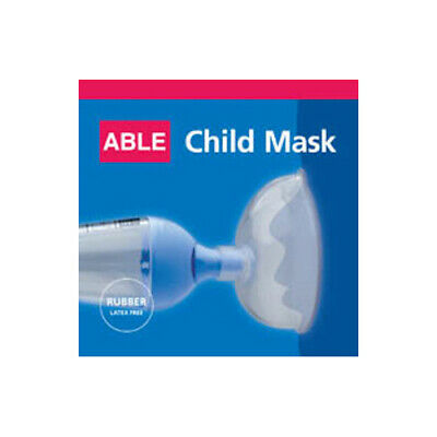 NEW Able Spacer Allergy Sinus Asthma Face Mask Mask Latex Free Child