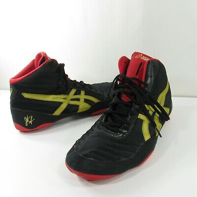 timeless design 958d0 0eaa8 ASICS Mens Size 13 JB ELITE V2.0 Wrestling Shoes Black   Gold J501N