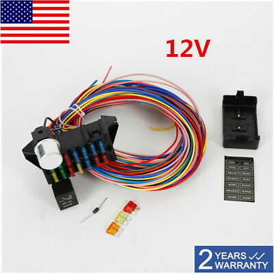 Enjoyable Ez Wiring Harness 21 Circuit Hot Rod Wiring Harness 189 00 Picclick Wiring Cloud Staixuggs Outletorg