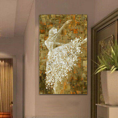 Modern abstract huge wall art oil painting on canvas-ballet Dancers NO Frame !
