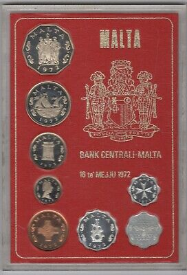 1972 Malta Proof Coin Set | Coin Sets | Pennies2Pounds