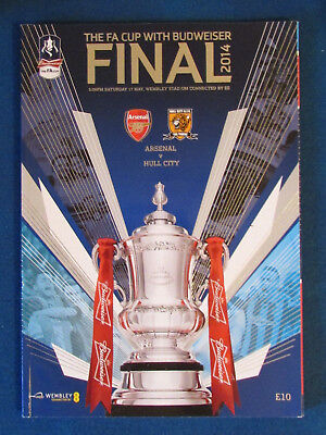 Arsenal v Hull City - FA Cup Final 2014 Programme