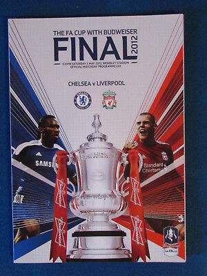 Chelsea v Liverpool - FA Cup Final 2012 Programme
