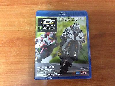 TT Isle of Man TT Official Review 2014 - Region B Blu-Ray - Brand new & Sealed
