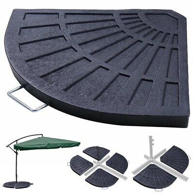 Heavy Duty Hanging Garden Cantilever Parasol Base Umbrella Weights Stand Holder