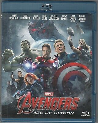 AVENGER age of ultron - blu-ray disc