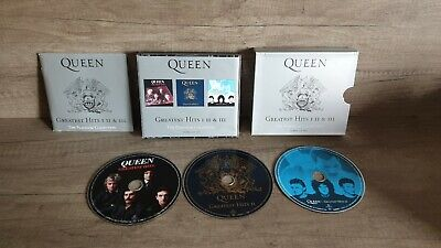 Queen  -  The Platinum Collection ; Greatest Hits 1,11,111 (3-Disc Box Set) 2000