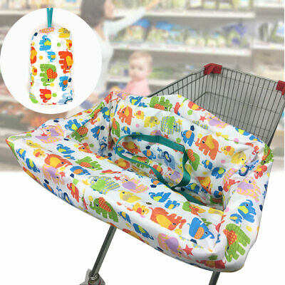 Baby Kids Child Shopping Trolley Cart Seat Pad High Chair Mat Comfortable Cover