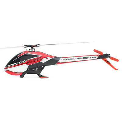 SAB GOBLIN 380 Flybarless Electric Helicopter Kit Red Black w/ 380MM