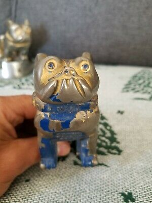 mack Truck Type Bonnet Mascot Trend Mark Gold Plated Bulldog