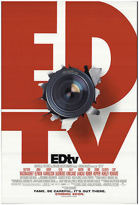 EDtv 1999 27x40 Orig Movie Poster FFF-74224 Rolled Fine, Very Good Geoffrey B...