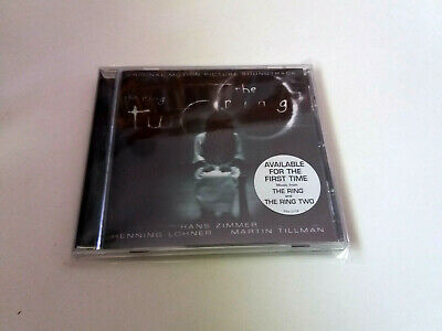 "Original Soundtrack ""The Ring /The Ring Two"" Cd 12 Tracks Hans Zimmer Bso Ost Ba"